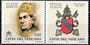 Vatican City 1998 The Popes and the Holy Years (1st Group) c