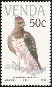 Venda 1989 Endangered Birds d