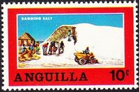 Anguilla 1969 Salt Industry a