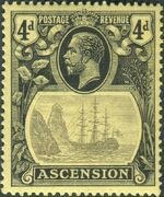 Ascension 1924 Seal of the Colony fc
