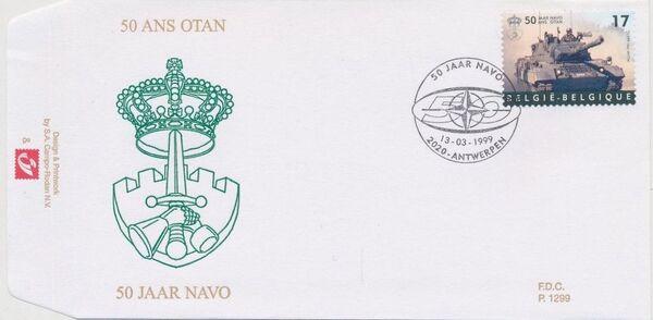 Belgium 1999 50th Anniversary of NATO FDCa