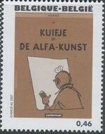 Belgium 2007 Tintin book covers translated y