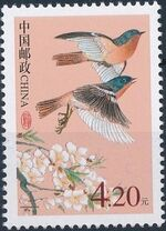 China (People's Republic) 2002 Chinese Birds d