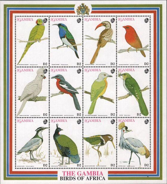 Gambia 1993 Birds of Africa SSa