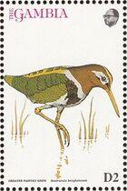 Gambia 1993 Birds of Africa k