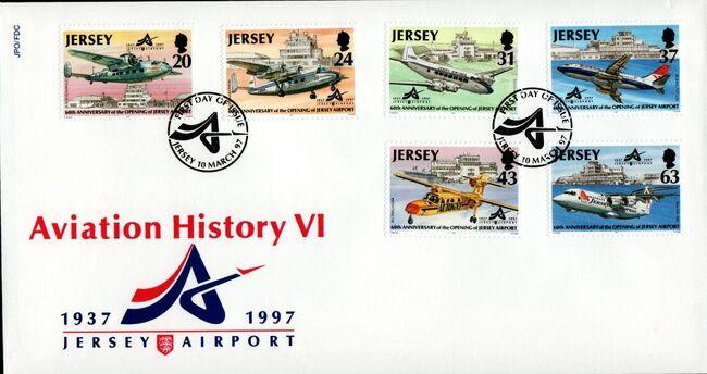 Jersey 1997 Aviation History VI g