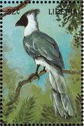 Liberia 1998 Birds of the World h
