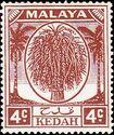 Malaya-Kedah 1950 Definitives d