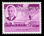 Mauritius 1950 Definitives a