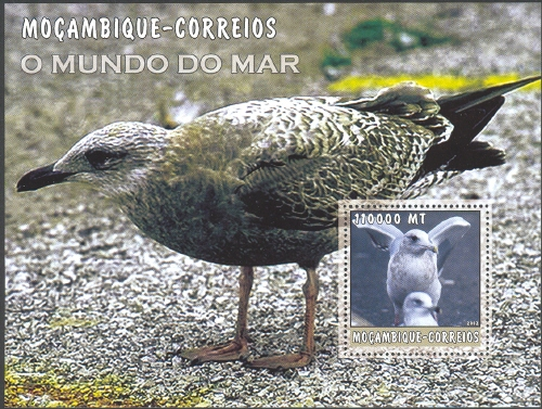 Mozambique 2002 The World of the Sea - Sea Birds 3 i