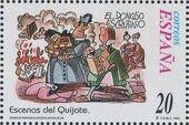 """Spain 1998 Scenes from """"Don Quixote"""" f"""
