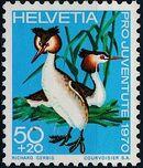 Switzerland 1970 PRO JUVENTUTE - Birds d