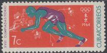 Cuba 1964 Summer Olympics - Tokyo d