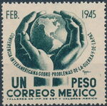 Mexico 1945 Inter-American Conference (Regular Mail) b