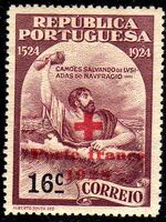 Portugal 1928 Red Cross - 400th Birth Anniversary of Camões b