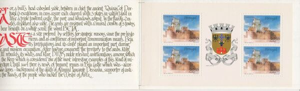 Portugal 1986 Castles and Arms (1st Group) Bb