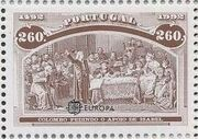 Portugal 1992 EUROPA - 5th Centenary of Discovery of America b