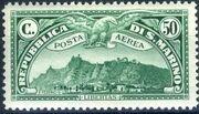 San Marino 1931 Air Post Stamps a