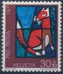 Switzerland 1971 PRO PATRIA - Contemporary Stained Glass Windows c