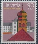 Switzerland 1996 PRO PATRIA - Restoration projects c