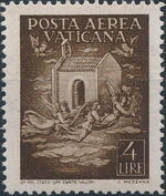 Vatican City 1947 Definitives (Air Post Stamps) b