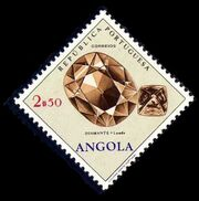 Angola 1970 Fossils and Minerals from Angola e
