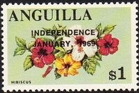 Anguilla 1969 Independence m