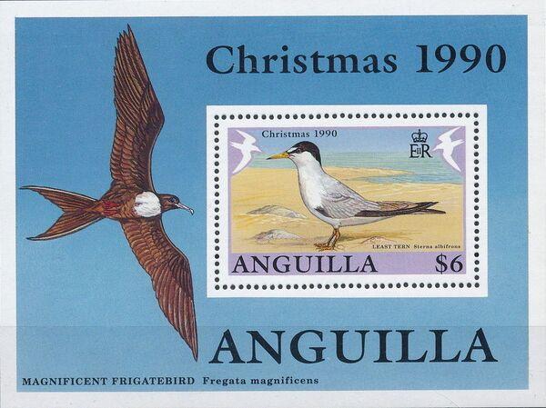 Anguilla 1990 Christmas - Birds f