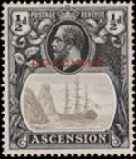 Ascension 1924 Seal of the Colony m