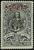 Azores 1926 1st Independence Issue Overprinted n