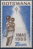 Botswana 1969 Christmas d