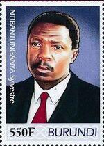 Burundi 2012 Presidents of Burundi - Sylvestre Ntibantunganya b