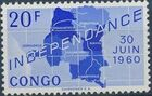 Congo, Democratic Republic of 1960 Independence Commemoration j