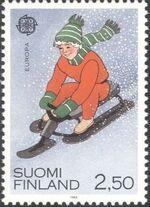 Finland 1989 EUROPA b