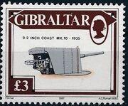 Gibraltar 1987 Guns and Artillery l