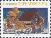 Grenada Grenadines 1988 The Disney Animal Stories in Postage Stamps 5i