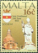 Malta 1997 Maltese City Anniversaries b