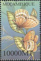 Mozambique 2002 Butterflies k