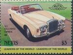 Nevis 1985 Leaders of the World - Auto 100 (3rd Group) x