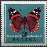 Poland 1967 Butterflies f