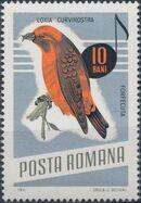 Romania 1966 Song Birds b
