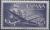 Spain 1955 Plane and Caravel (1st Group) a