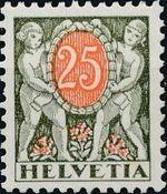 Switzerland 1924 Postage Due Stamps e