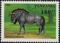 Tanzania 1995 African Hoofed-animals d