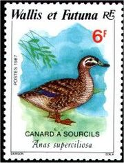 Wallis and Futuna 1987 Birds a