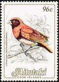 Aitutaki 1984 Local Birds (2nd Group) d