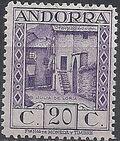 Andorra-Spanish 1929 Local Motifs e