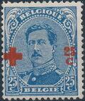 Belgium 1918 King Albert I (Red Cross Charity) g