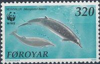 Faroe Islands 1990 WWF - Whales a