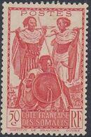 French Somali Coast 1938 Definitives k